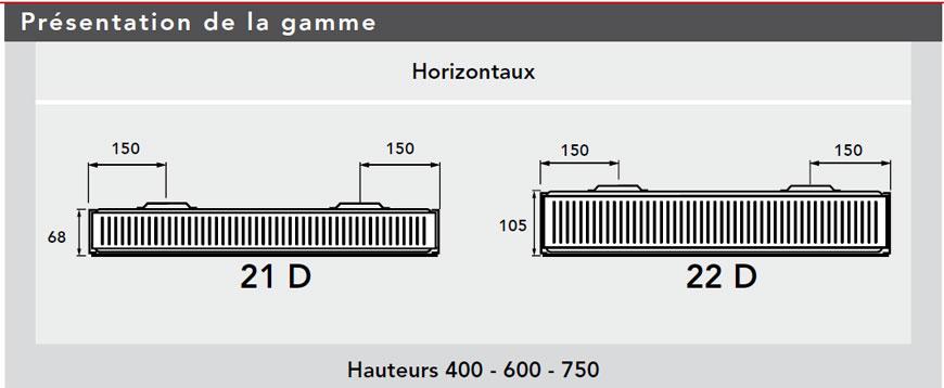 REGGANE DECO  Hauteur 400mm