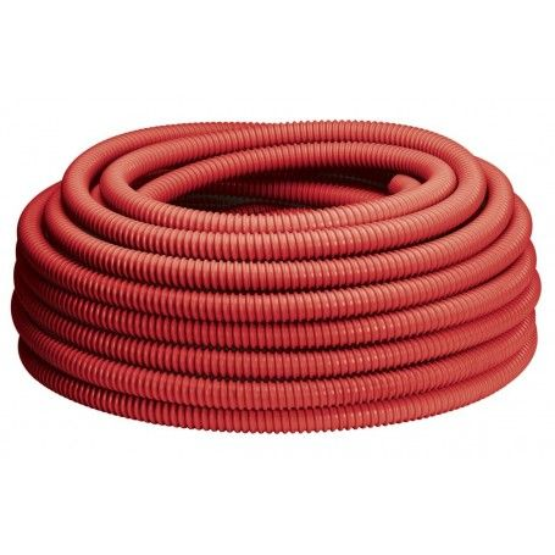 50m Tube Multicouche gainé Ø16 Rouge