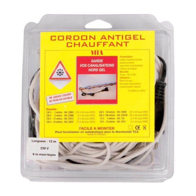 Câble chauffant Grande longueur