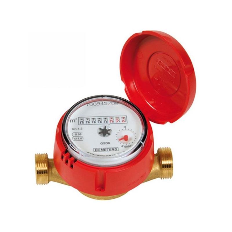 """Compteur divisionnaire eau chaude 15x3/4"""""""