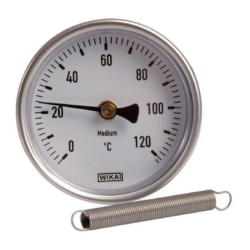 Thermomètre à ressort
