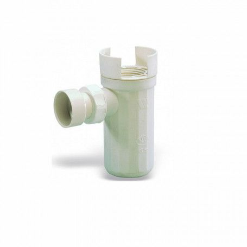 Siphon pvc avec déflecteur