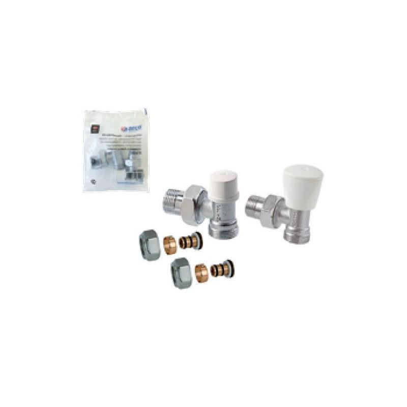 Kit Manuel Equerre 1/2 pour tube multicouche à compression