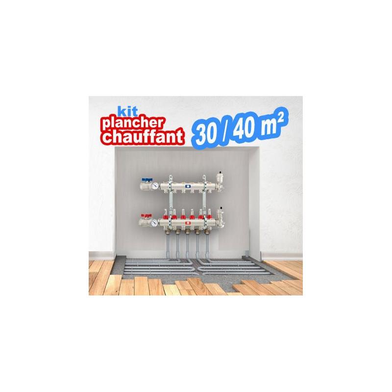 Kit plancher chauffant 30/40m²