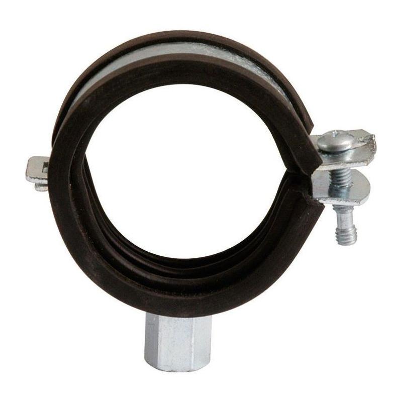 Collier de fixation à charnière isophonique