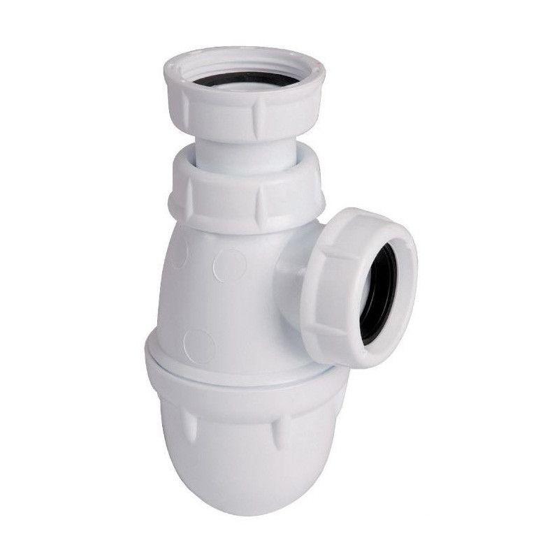 Siphon lavabo à culot