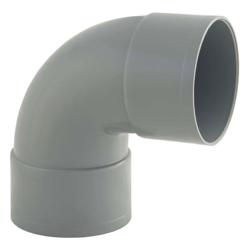 RACCORD PVC EVACUATION COUDE 90° MF