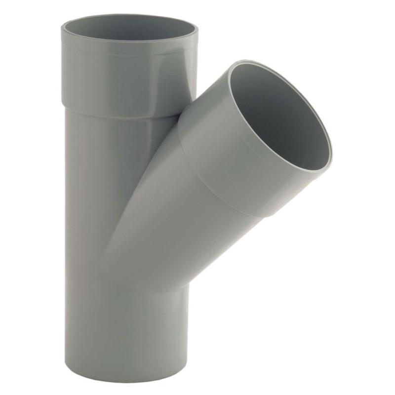 RACCORD PVC EVACUATION CULOTTE 45° MFF