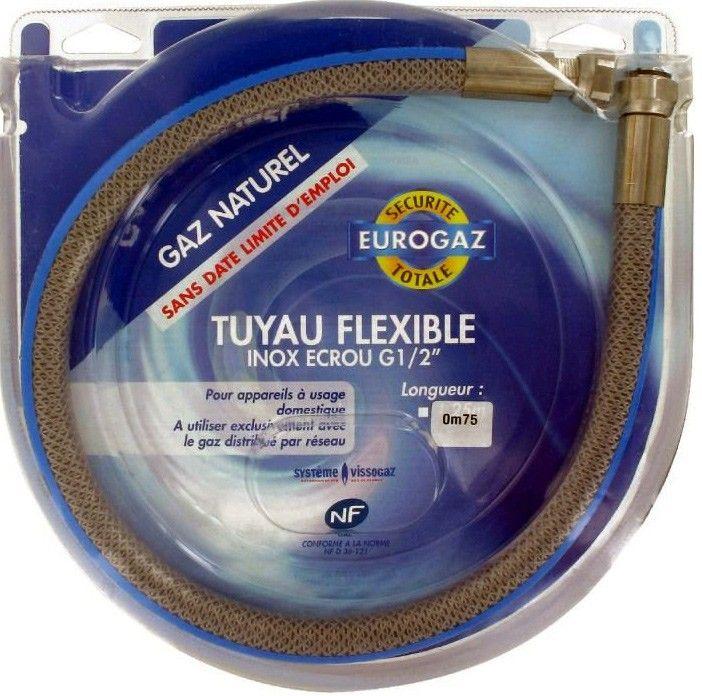 Longueur 1,5 m Flexible gaz naturel Eurogaz